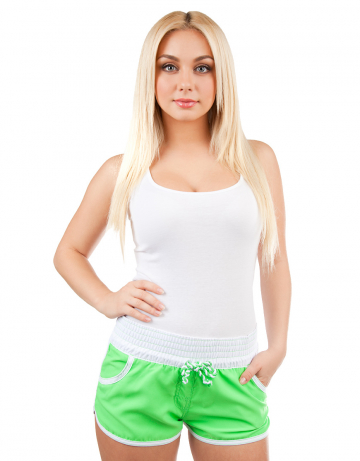 Mad Wave | Женские пляжные шорты Women Solid | Clouty