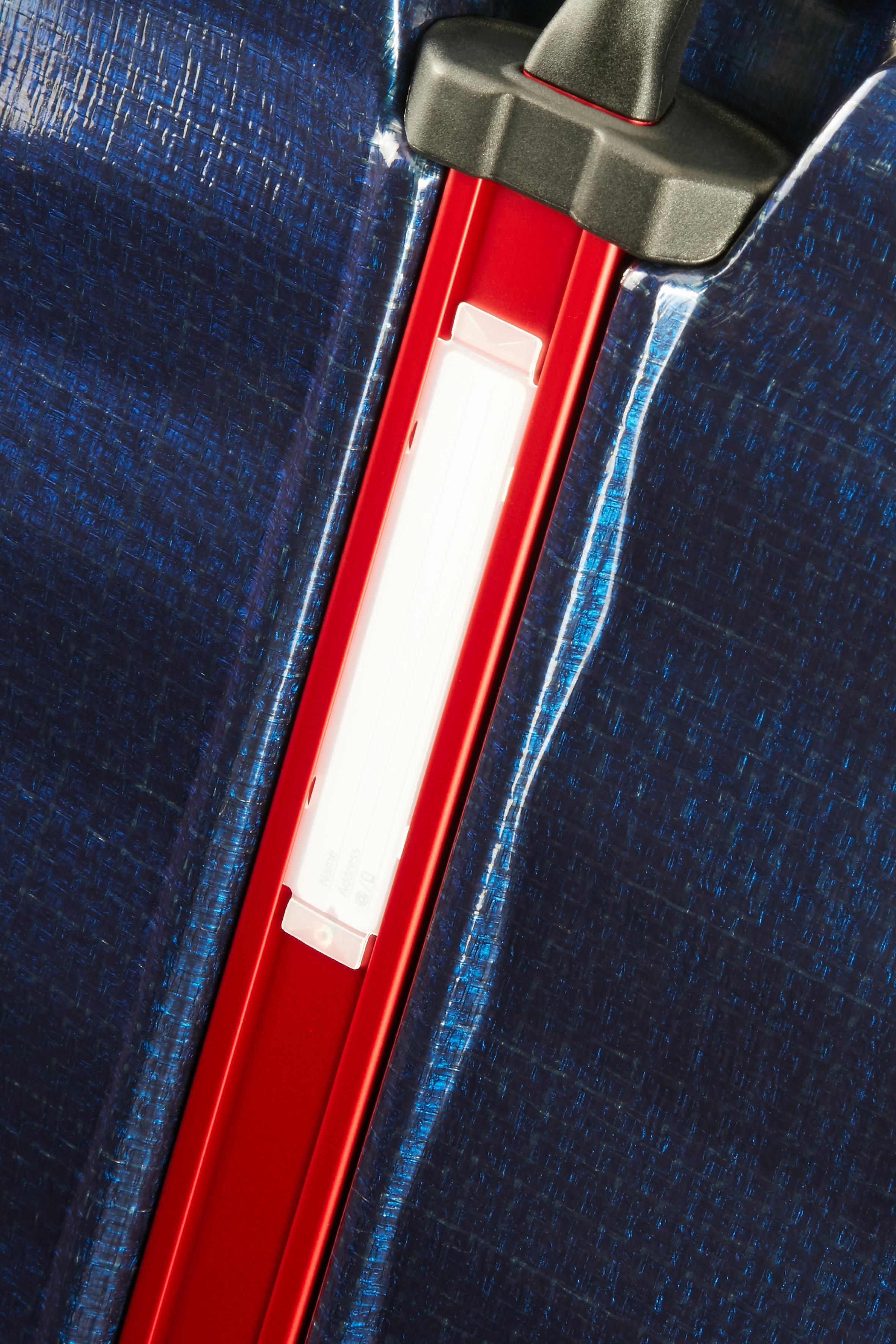 Samsonite   Синий, Красный/Nautical Blue, Red Чемодан 75 см LITE-SHOCK SPORT 51.5x75x31   Clouty
