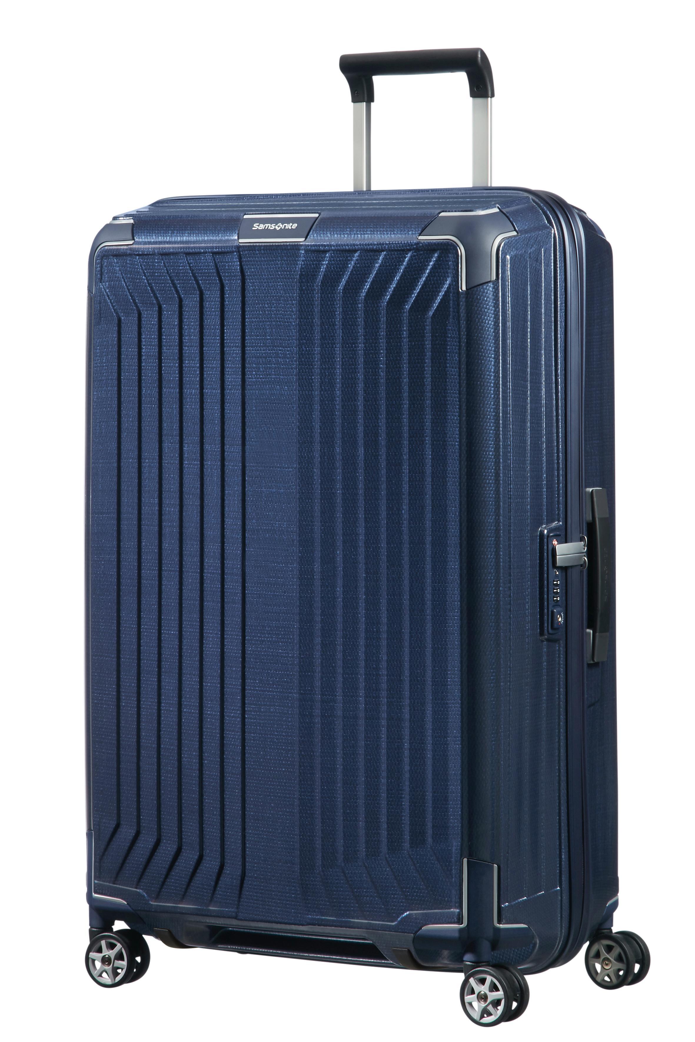 Samsonite | Синий/Deep blue Чемодан 75 см LITE-BOX 50x75x29 | Clouty