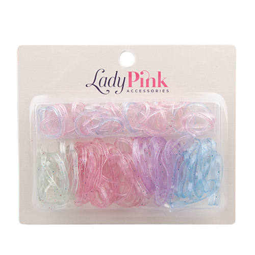 Lady Pink | Набор резинок LADY PINK BASIC box | Clouty