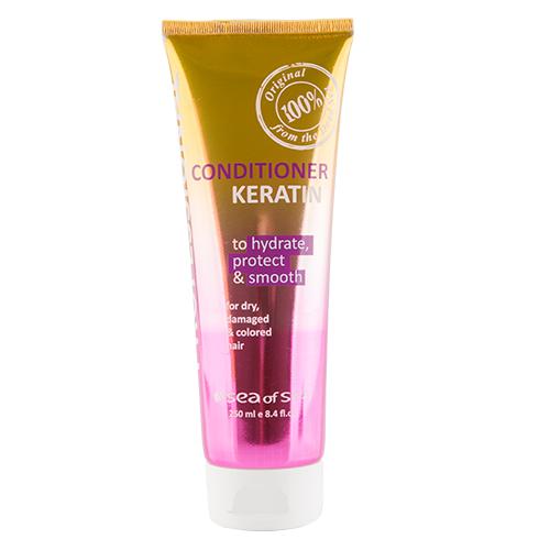 Sea Of Spa | Кондиционер для волос SEA OF SPA PROFESSIONAL с кератином для сухих, поврежденных и окрашенных волос 250 мл | Clouty