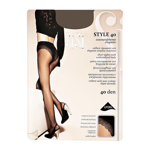 Sisi | Колготки женские SISI STYLE 40 den Daino р-р 3 | Clouty