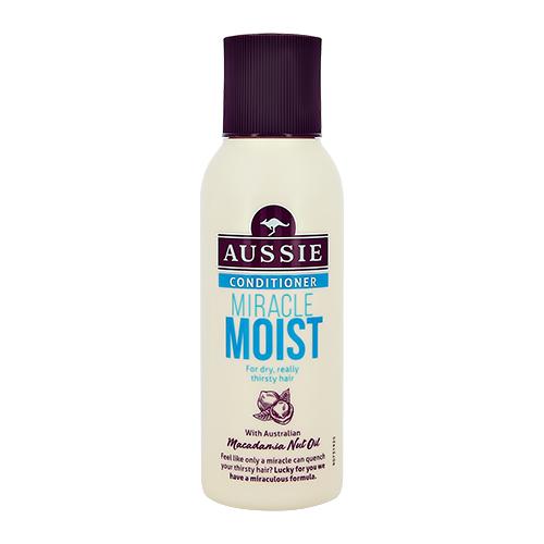 Aussie   Бальзам-ополаскиватель AUSSIE MIRACLE MOIST для сухих и поврежденных волос 90 мл   Clouty