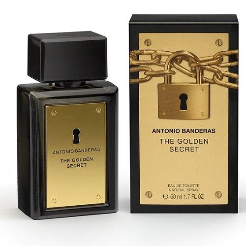 Antonio Banderas | Туалетная вода ANTONIO BANDERAS THE GOLDEN SECRET муж. 50 мл | Clouty