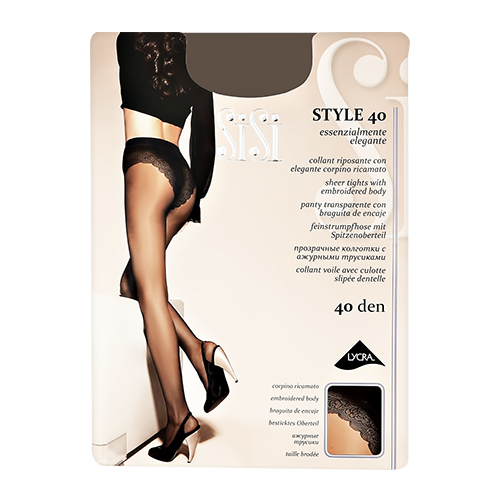 Sisi | Колготки женские SISI STYLE 40 den Daino р-р | Clouty