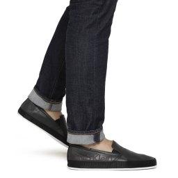 Calvin Klein | черный Мужские черные слипоны Calvin Klein | Clouty