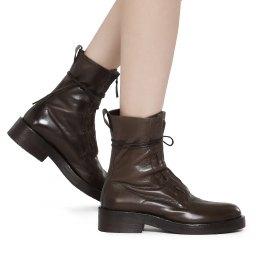 Ernesto Dolani | коричнево-зеленый Женские ботинки Ernesto Dolani | Clouty