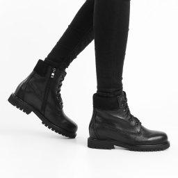 Rendez-Vous By Massimo Santini   черный Женские черные ботинки Rendez-Vous By Massimo Santini   Clouty