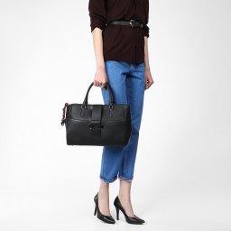 Ferre Collezioni   черный Женская черная сумка Ferre Collezioni   Clouty