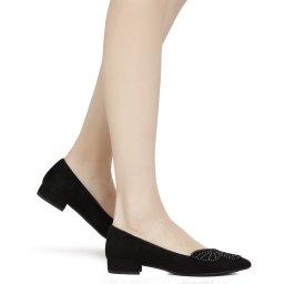 Pas De Rouge   черный Черные туфли Pas De Rouge   Clouty