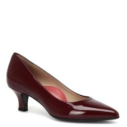 Pas De Rouge | бордовый Бордовые туфли Pas De Rouge | Clouty