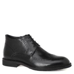 Kiss Moon   черный Мужские черные ботинки Kiss Moon   Clouty