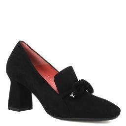 Pas De Rouge   черный Женские черные туфли Pas De Rouge   Clouty