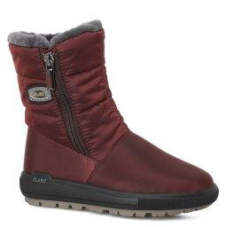 Olang | бордовый Бордовые ботинки Olang для девочек | Clouty
