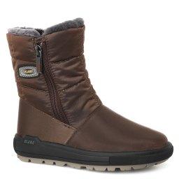 Olang | темно-коричневый Темно-коричневые ботинки Olang для девочек | Clouty