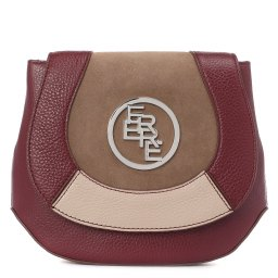 Ferre Collezioni | бордовый Женская бордовая сумка Ferre Collezioni | Clouty