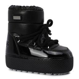 Jog Dog | черный Черные ботинки Jog Dog для девочек | Clouty