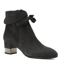Giovanni Fabiani | темно-серый Женские темно-серые ботинки Giovanni Fabiani | Clouty