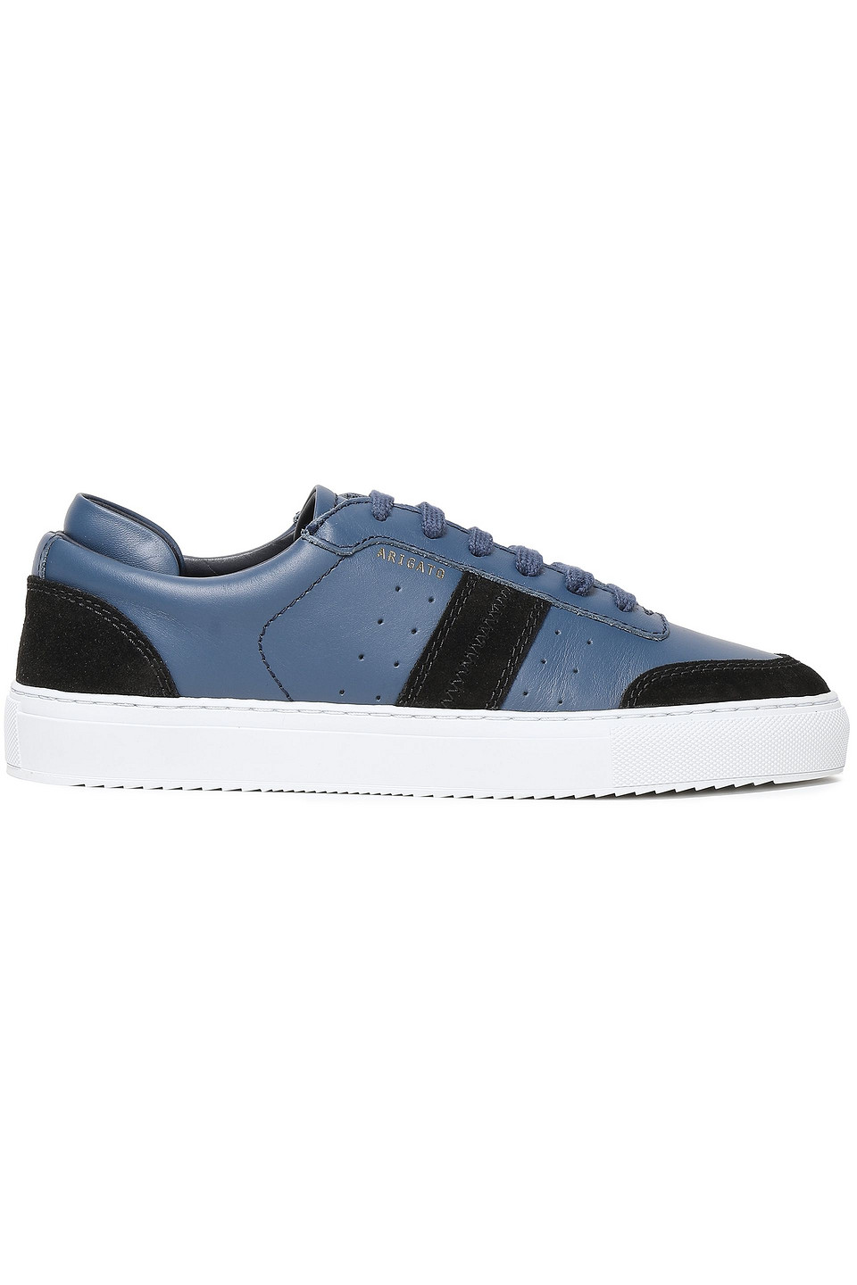 AXEL ARIGATO | Axel Arigato Woman Color-block Leather And Suede Sneakers Navy | Clouty