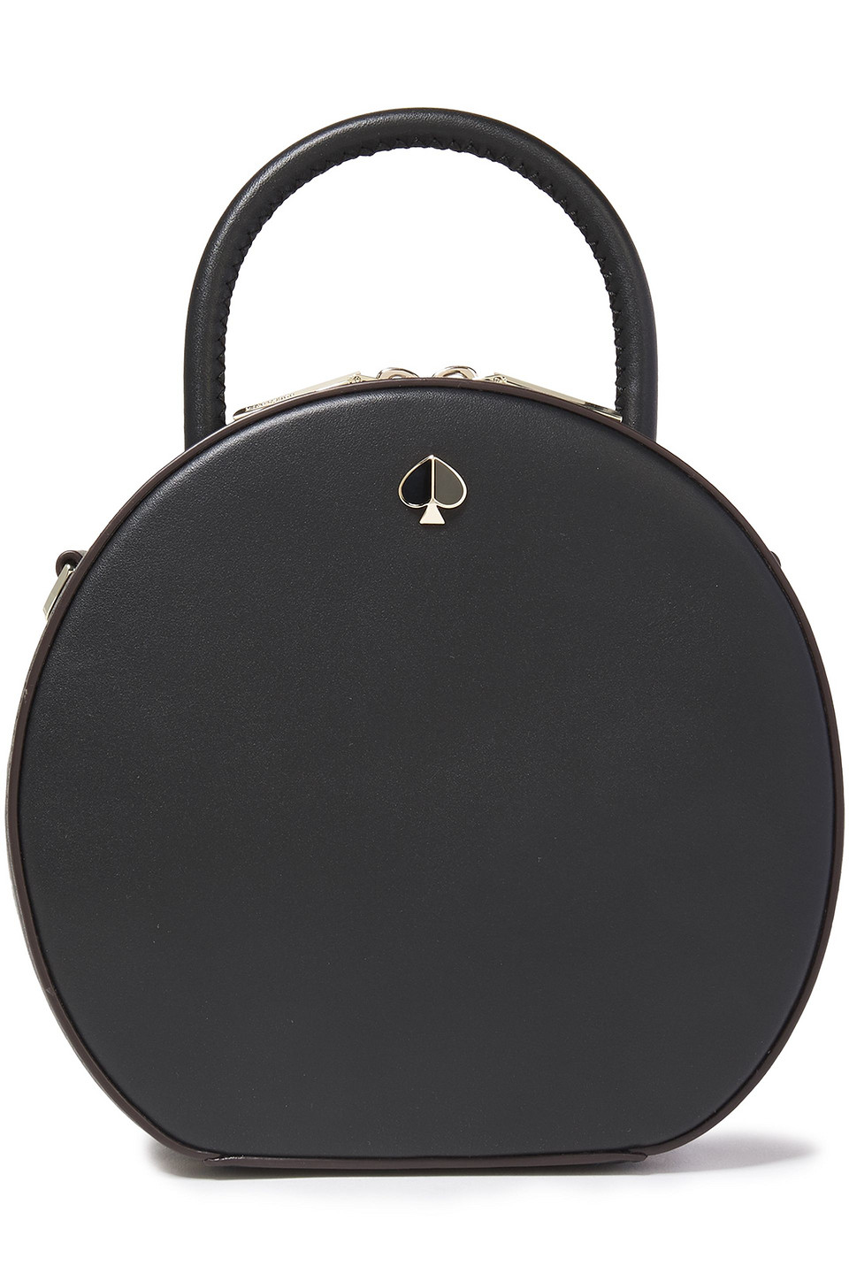 KATE SPADE | Kate Spade New York Woman Andi Canteen Leather Shoulder Bag Black | Clouty