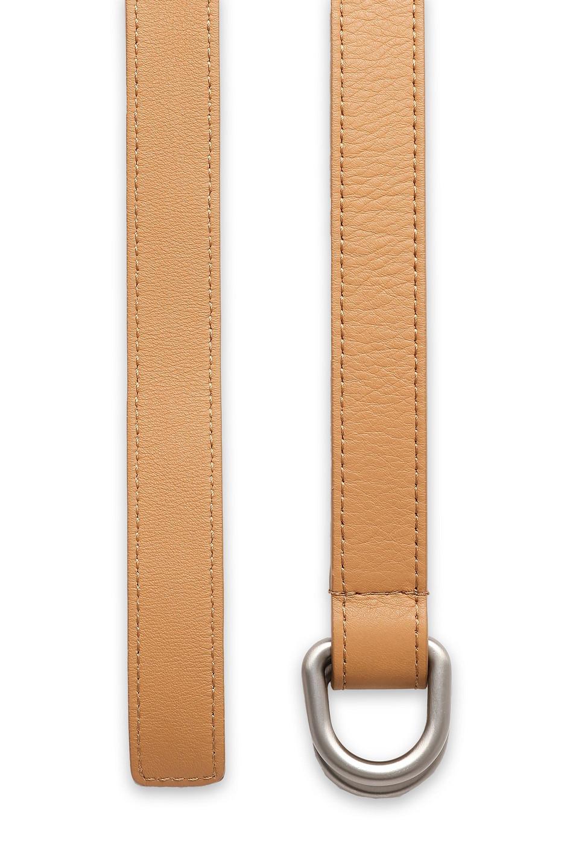 MICHAEL KORS | Michael Kors Collection Woman Leather Belt Sand | Clouty