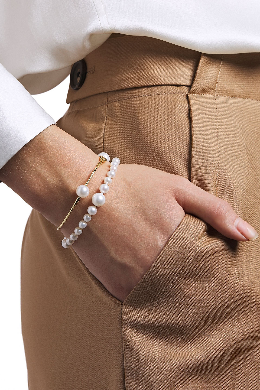 Ippolita   Ippolita Woman Nova 18-karat Gold Freshwater Pearl Bracelet   Clouty