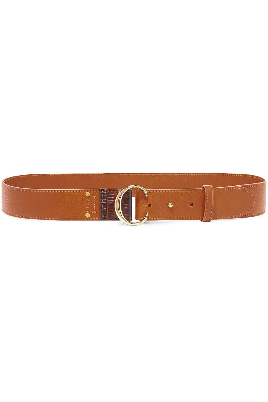 Chloé | Chloe Woman Leather Belt Brown | Clouty