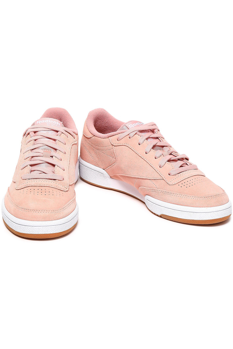 REEBOK | Reebok Woman Suede Sneakers Blush | Clouty