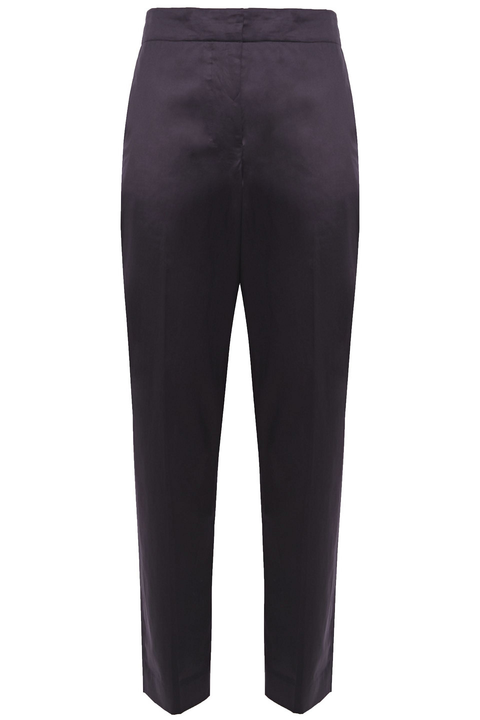 Theory | Theory Woman Cotton Tapered Pants Midnight Blue | Clouty