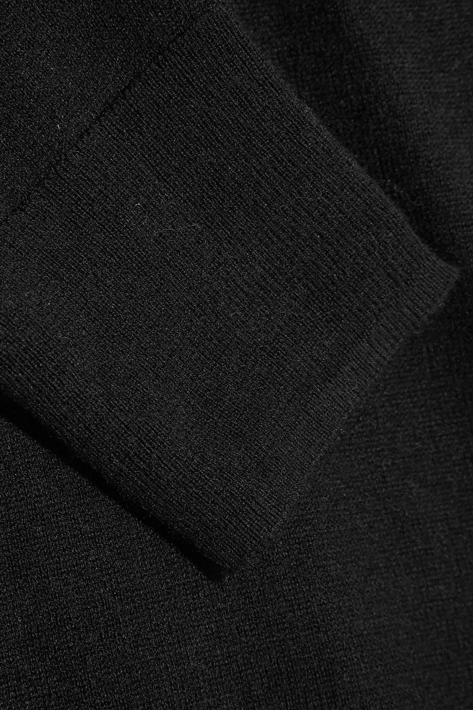 Splendid   Splendid Woman Canarise Cutout Stretch-knit Sweater Black   Clouty