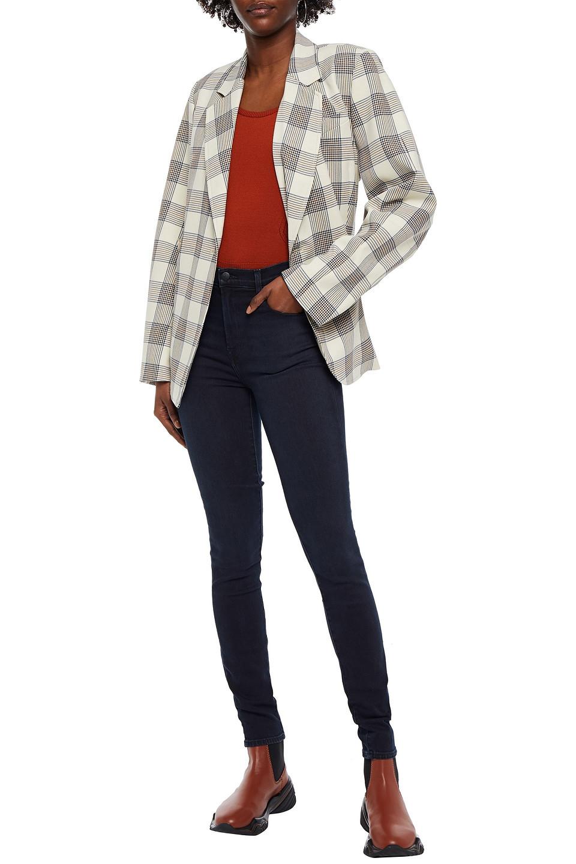 J Brand | J Brand Woman High-rise Skinny Jeans Dark Denim | Clouty