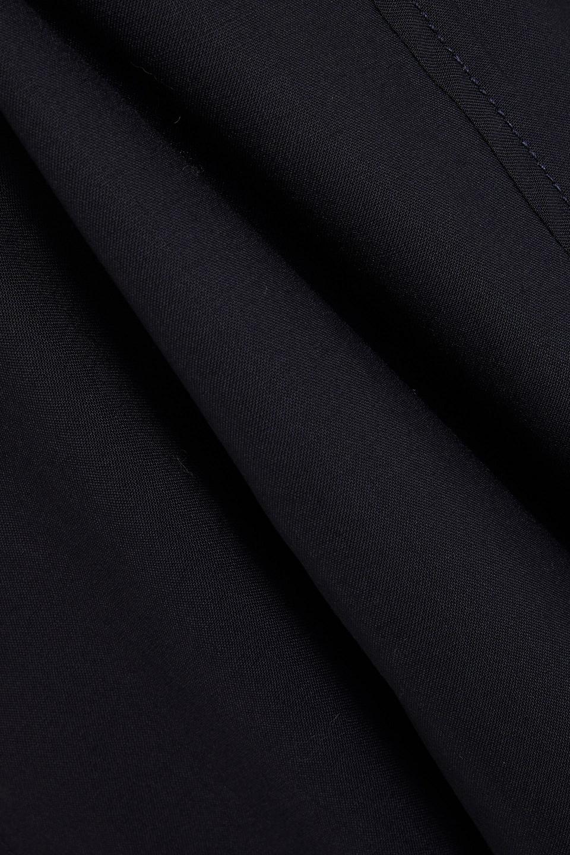 LVIR   Lvir Woman Wool Midi Dress Navy   Clouty