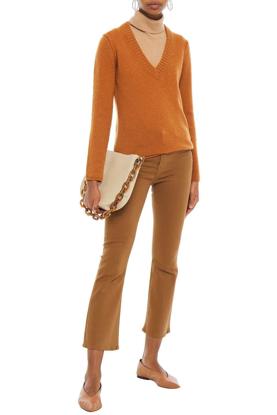 James Perse | James Perse Woman Cashmere Sweater Brown | Clouty
