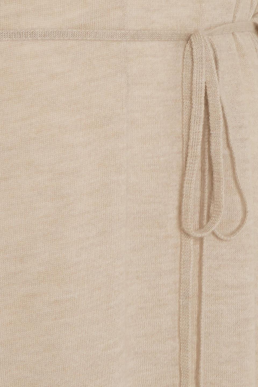 Madeleine Thompson | Madeleine Thompson Woman Finch Cashmere Midi Dress Beige | Clouty