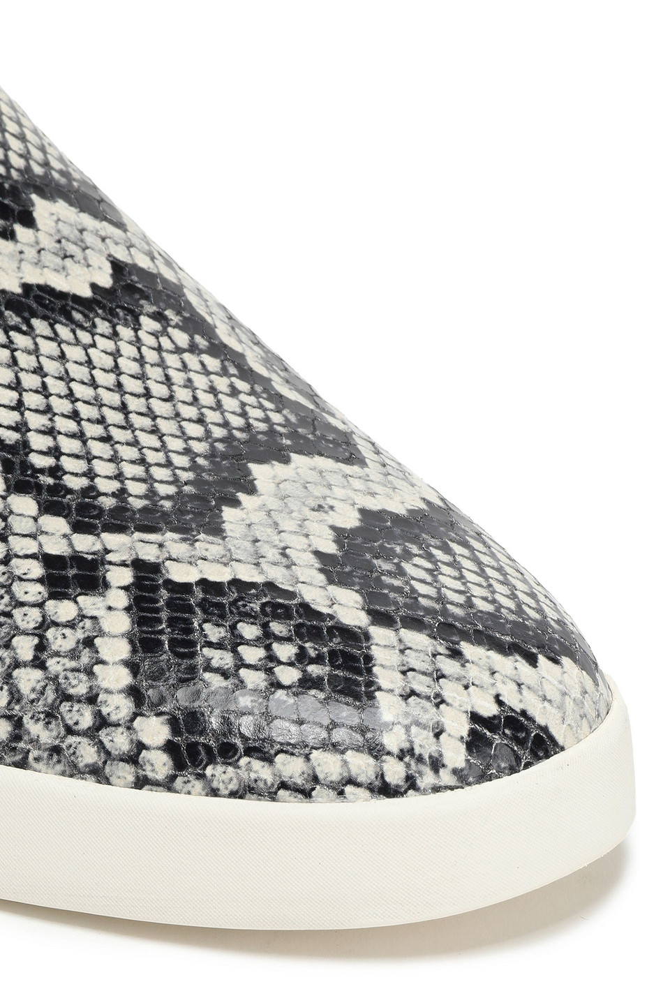 Vince | Vince. Woman Vero Snake-print Leather Slip-on Sneakers Animal Print | Clouty