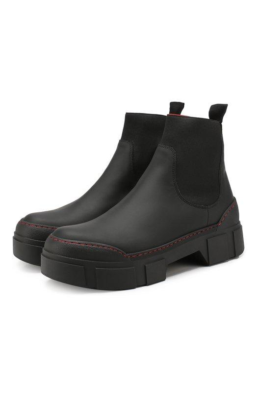 Vic Matiē | Черный Кожаные ботинки Vic Matie | Clouty