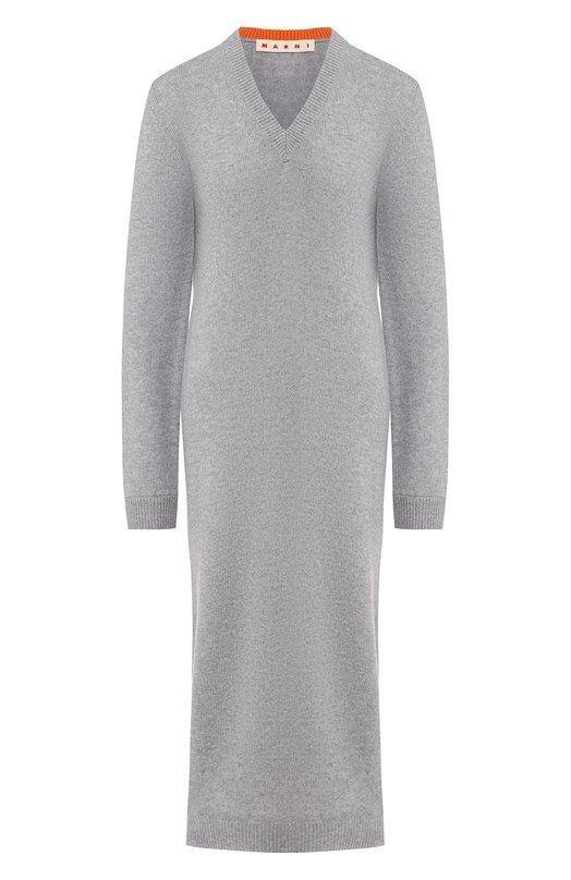 Кашемировое платье Marni ABMD0040Q0/FX305 - цена 79950 руб., купить на Clouty.ru