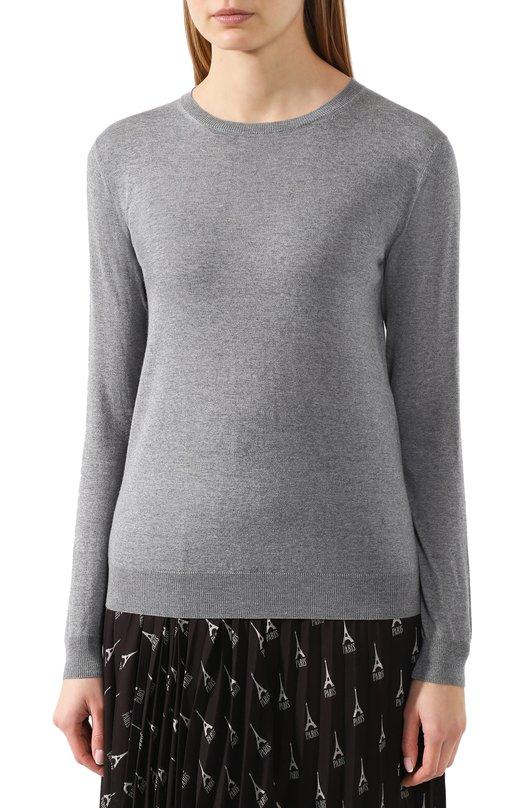 Stella McCartney   Темно-серый Шерстяной пуловер Stella McCartney   Clouty
