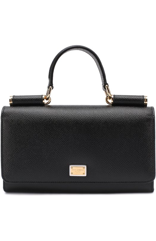 Dolce & Gabbana | Черный Сумка Sicily Von на цепочке Dolce & Gabbana | Clouty