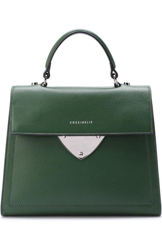 8b4d786c30e32 Сумка B14 Coccinelle CL000016915632, цвет: зелёный - цена 21500 руб ...
