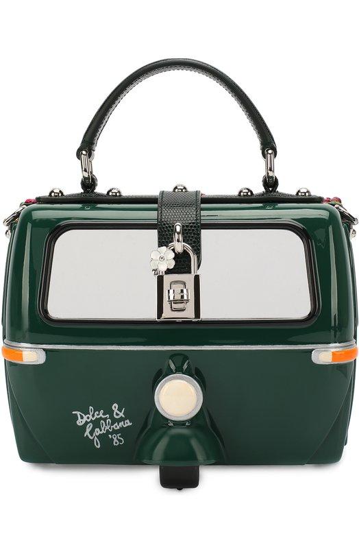 Dolce & Gabbana | Зеленый Сумка Dolce Box Dolce & Gabbana | Clouty