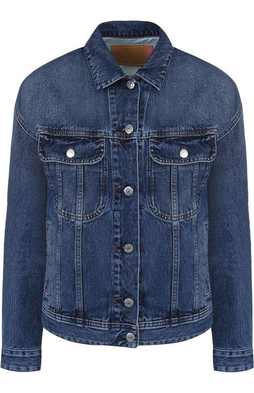f731455a365 Джинсовая куртка свободного кроя с потертостями Acne Studios 12LC73 ...