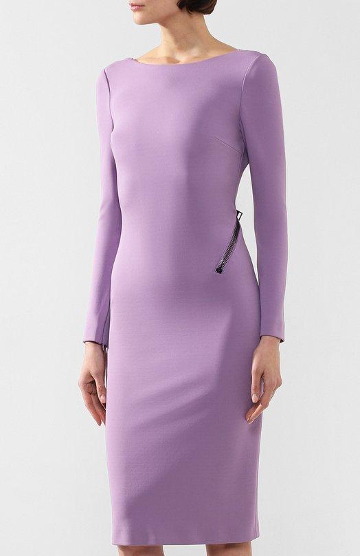 59d996128b7 Платье-футляр с открытой спиной Tom Ford ABJ043-FAX021