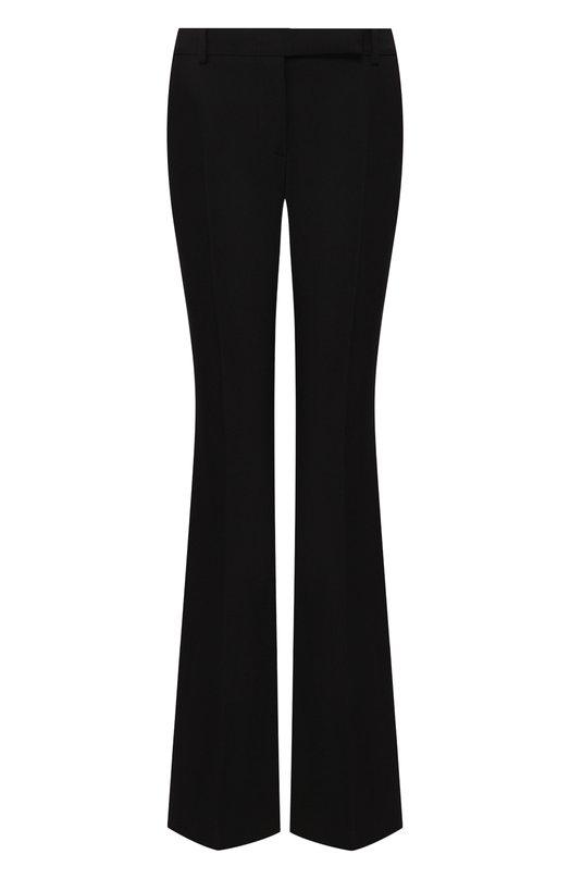 Alexander McQueen   Черный Расклешенные брюки со стрелками Alexander McQueen   Clouty