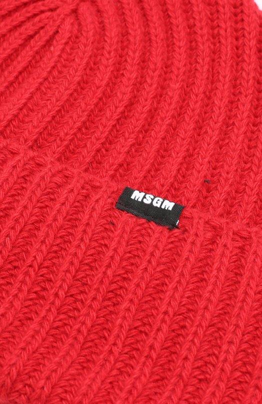 MSGM | Красный Шапка бини из смеси шерсти и вискозы с кашемиром MSGM | Clouty
