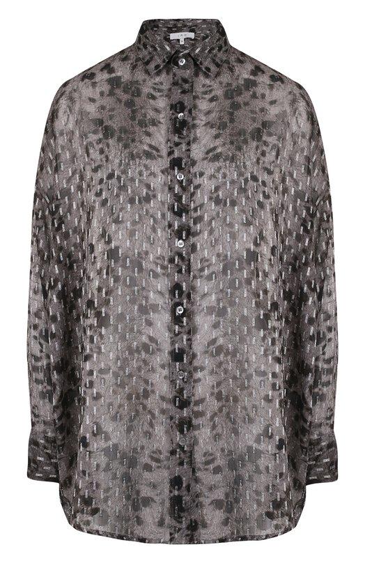 IRO | Серый Блуза свободного кроя из вискозы Iro | Clouty