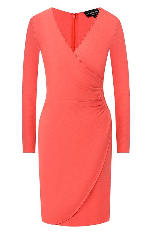 Emporio Armani | Розовый Платье из вискозы Emporio Armani | Clouty