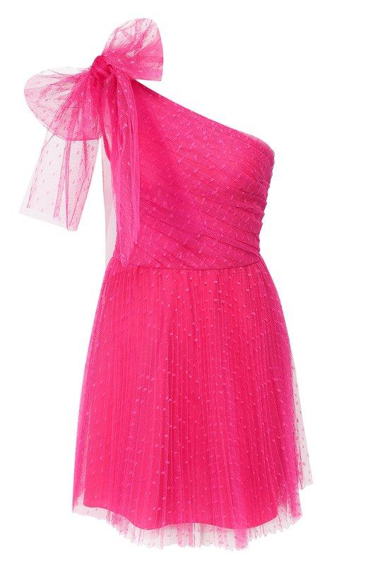 VALENTINO RED | Фуксия Платье с бантом REDVALENTINO | Clouty
