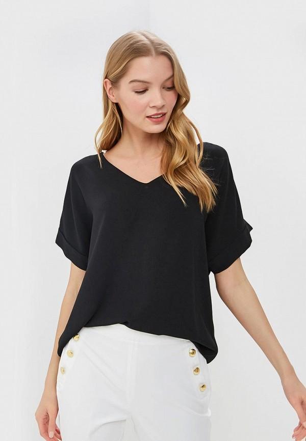 adL | черный Женская черная блуза adL | Clouty