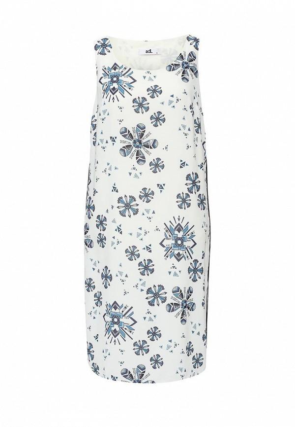 adL | белый Женское летнее белое платье adL | Clouty